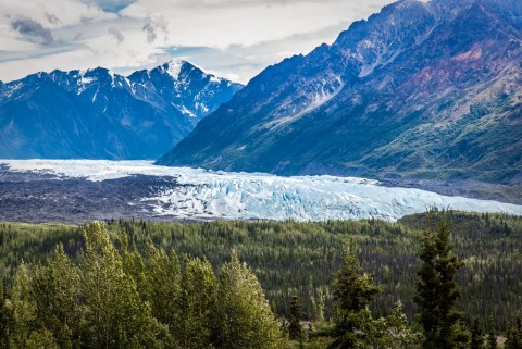 Drive to the Matanuska Glacier