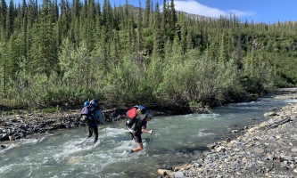 Alaskan backpacking gear list haley johnston AC Image River Crossings Image 4