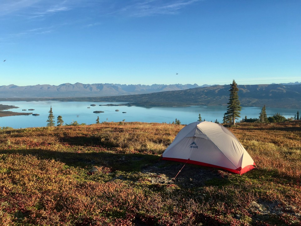 Haley Johnston AC Image Tips for AK Backpacking Tent