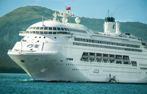 Alaska princess cruiselines IMG 1228 Alaska Channel 2006 08 29-what-size-ship
