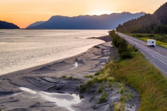 Independent Travel Alaska 2021 Kenai Seward Highway