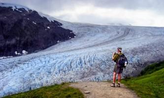 Seward guided hiking Exit Glacier Alaska Channel
