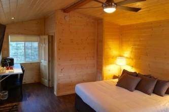 Anchorage Cabin Rentals Thumbnail Knik River Lodge Interior King