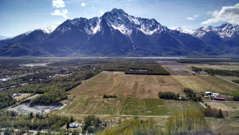 Hike the Butte for great views of the area's farmland and craggy peaks