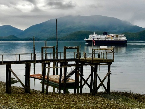 Ferry Arrival Cordova Wendy Ranney