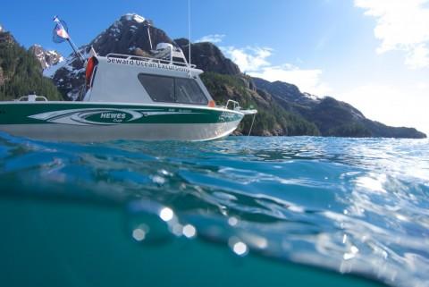 A water taxi in Seward