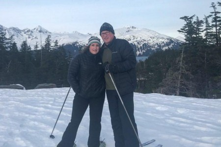 X Country Ski alaska anna dave dickason whittier