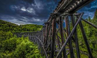 Gilhaina Railroad Trestle Mc Carthy Road Jesse Fliris