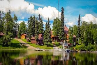Anchorage fishing lodge