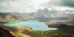 Aniakchak parks trails Surprise Lake