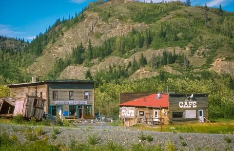 Alaska chitina historic parks sites Chitina ghost town Chitina