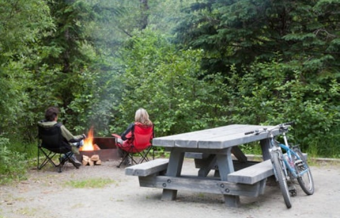 Chugach state park rv parks campgrounds Williwaw Campground USFS Ron Niebrugge wildnatureimages com