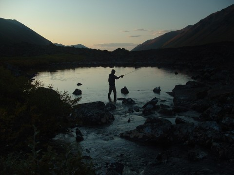 Fishing symphony lake chugach state park brent vorhees