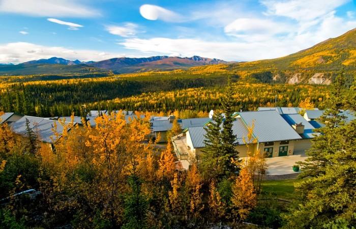 Denali national park hotels denali bluffs Alaska Channel