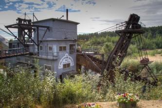 Fairbanks gold panning Kerry Williams