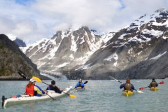Glacier bay national park sea kayaking East Arm1