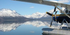 Katmai national park Dehavilland Otter 2 copyright David Mc Rae Brooks Lodge Katmailand