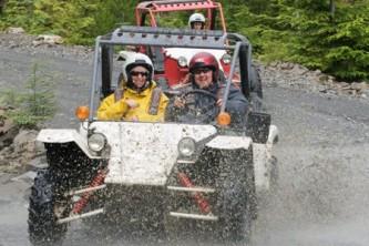 Ketchikan atv jeep tours Adventure Kart Expedition 15 2008 Clark James Mishler