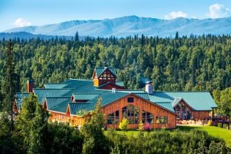 Mat su valley hotels lodges MPL Exterior Aerial Alaska Channel