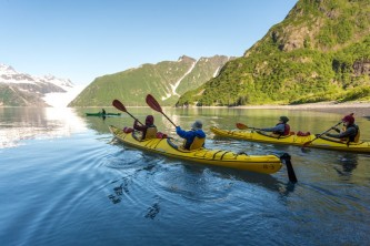 Seward sea kayaking sunny cove