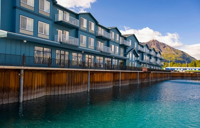 Seward hotels lodges Alaska Channel