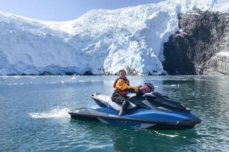 Alaska trip ideas whittier IMG 1866 v1 current Shawn Lyons alaska wild guides jet ski tours