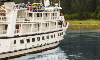 Alaska cruise reviews Wildlife Viewing On Small Cruise o1647w