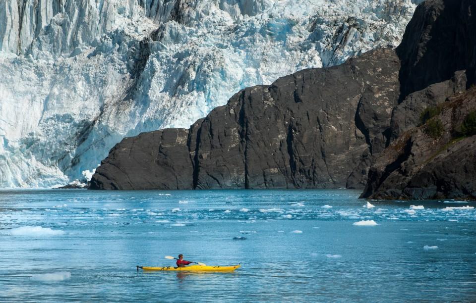 Explore Prince William Sound by Kayak.
