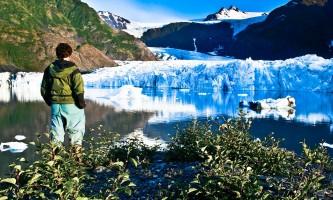 Exit glacier audio guide Ron N Seward C6 CT6433 Ron Niebrugge