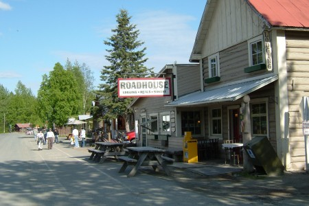 Anchorage to Talkeetna Driving Map