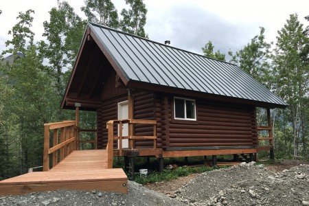 Eklutna Lake Rainbow Trout Cabin