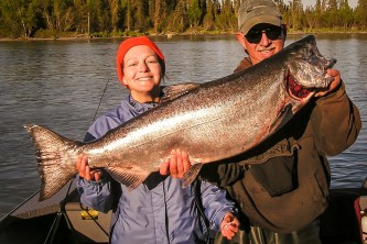 Alaska species fish Russ King Alaska Channel