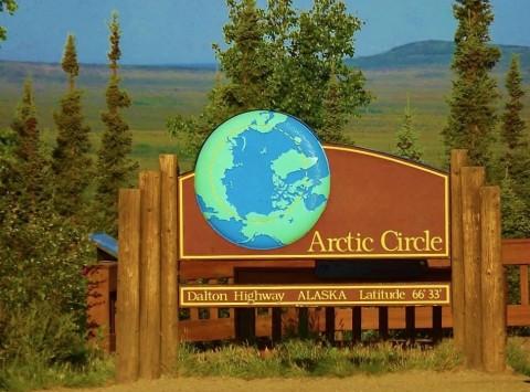 Arctic circle dalton highway