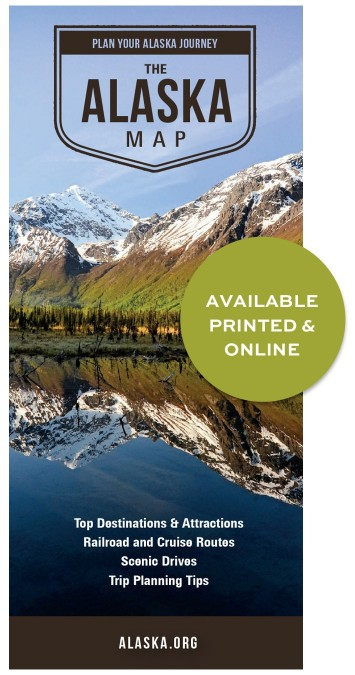 The Alaska Map Available Printed & Online