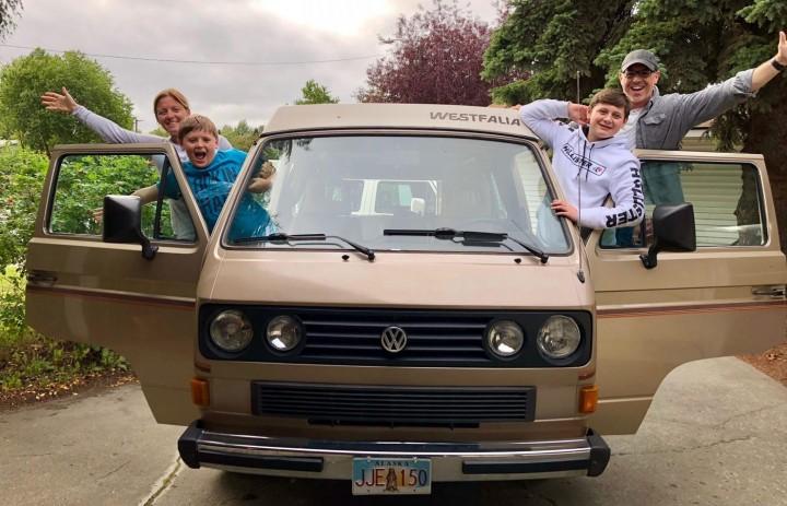 Trickster trips campervan rental