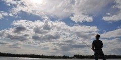 Chena Lake Park Fishing Dock
