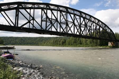 Walk Across The Railroad Bridge