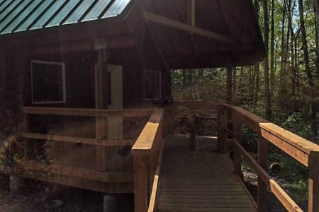 Dolly Varden Lake Cabin
