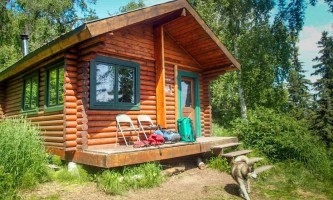 James lake cabin public use cabins alaska org james lake puc photo 1 p0v6m5