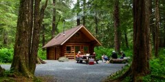 Starrigavan Creek Cabin