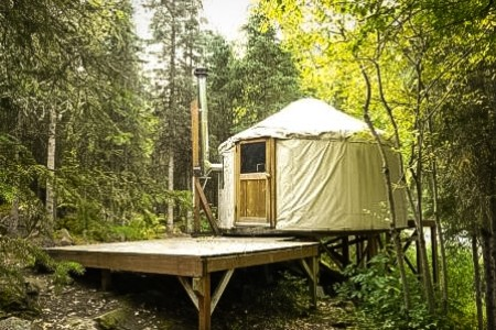 River Trail Yurt