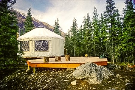 Rapids Camp Yurt
