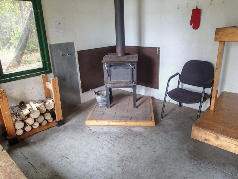 Wood stove will keep you warm in summer or winter