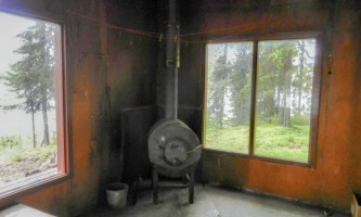 Red shirt lake cabin 3 public use cabins alaska org red shirt 3 stove p0tmk3