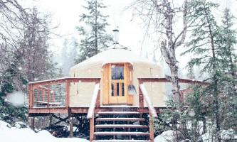 Manitoba cabin tobas yurt plqt24