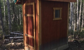 Rhein lake public use cabin rhein lake puc outhouse p9ndp5