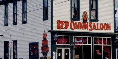 Red Onion Saloon in the Old Days