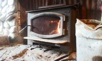 Denali park salmon bake fireplace 2015 oi54ny
