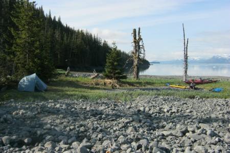 Unakwik Inlet Campsite #3 (Brilliant Beach)