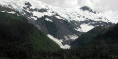 Kayak Near Toboggan Glacier